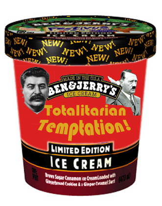 Ben & Jerry's Totalitarian Temptation Ice Cream
